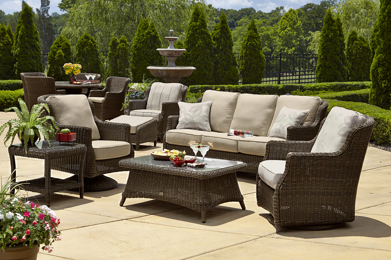 hd design sofa best sofas wicker sunset photo west set outdoor ideas of sectional