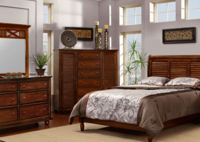 "Nantucket ""Sleigh Bed""  by Cottage Creek"