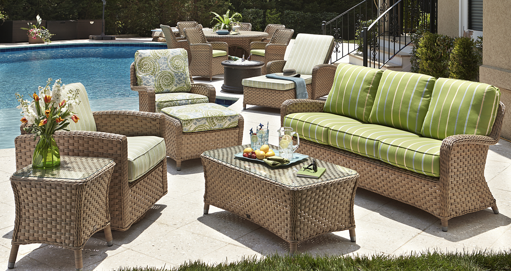 outdoor wicker seating sofas sectionals redbarn