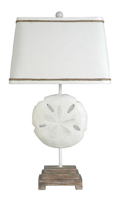 Sand Dollar by Palm Island Lamps