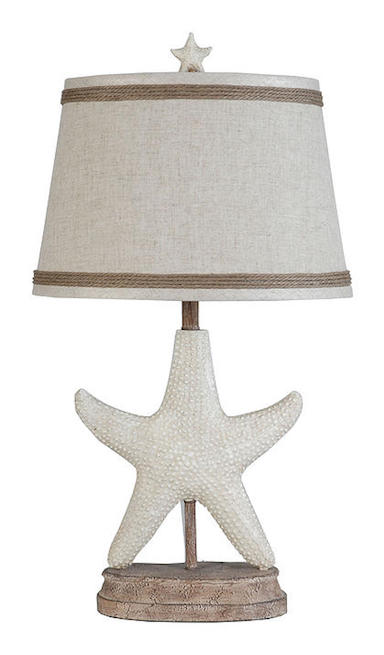 Happy Starfish by Palm Island Lamps