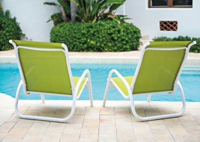 Gardenella Stacking Poolside Chair by Telecope Casual