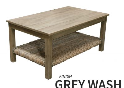 CT752 Coffee Table Grey Wash by Capris