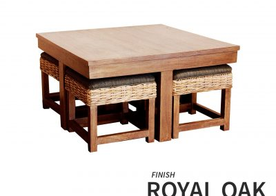 HT752 Hassock Table Royal Oak