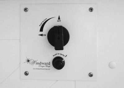 Control Panel by WDG Fire Pit Tables