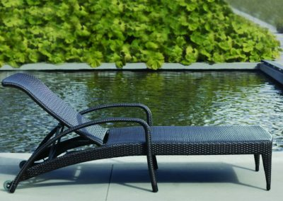 Lynn Valley Adjustable Lounger by Ratana