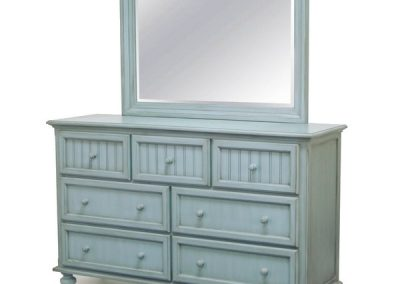 Monaco Dresser and Mirror by SeaWinds Trading