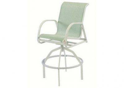 W1537 Ocean Breeze Swivel Bar Chair by Windward Design Group