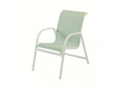 W1550 Ocean Breeze Dining Arm Chair by Windward Design Group