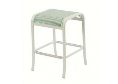 W1577 Ocean Breeze Backless Barstool by Windward Design Group