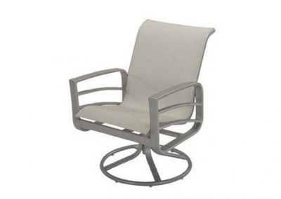 W1635 Skyway Swivel Dining Arm Chair by Windward Design Group