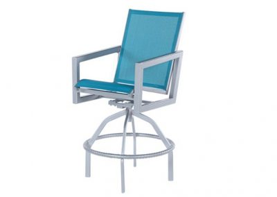 W6337 Madrid Swivel Bar Chair by Windward Design Group