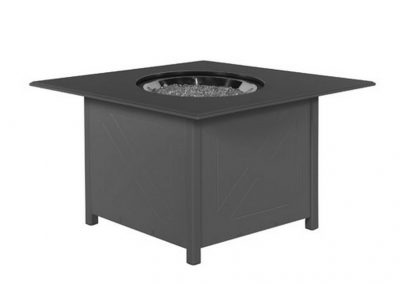 "WTFPS36-ALMGP 36"" square MGP firepit by Windward Design Group"