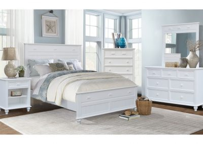 Fishtails Bedroom by Cottage Creek