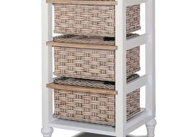 Island Breeze 3-Basket Tower Table by Sea Winds Trading