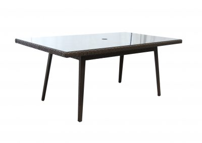 DT9862 Tilbury Rectangle Dining Table by BeachCraft