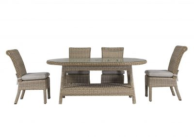 9872 Sanibel Oval Dining Set by BeachCraft
