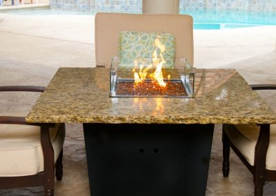 Madrid Firepit Table by Firetainment
