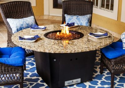 Naples Fire Pit Table by Firetainment