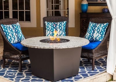 Riviera Fire Pit Table by Firetainment