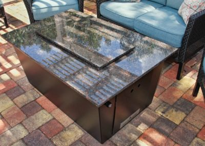 Monaco Fire Pit Table by Firetainment