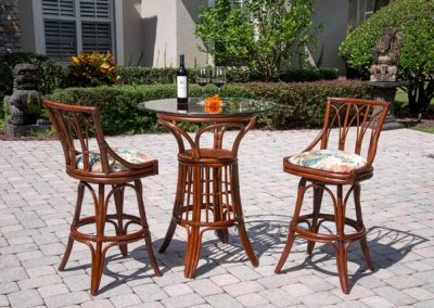 Cuba-30in-BS-Armless-and-Bar-Height-Pub-table-3PC-set-Sienna
