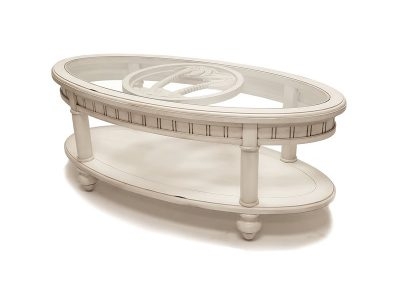 Monaco Oval Coffee Table by Sea Winds Trading Co.