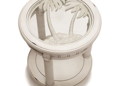 Monaco Round End Table by Sea Winds Trading Co.
