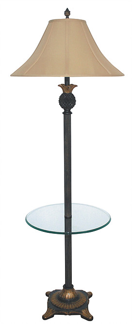 PR302T Floor lamp with table by papila