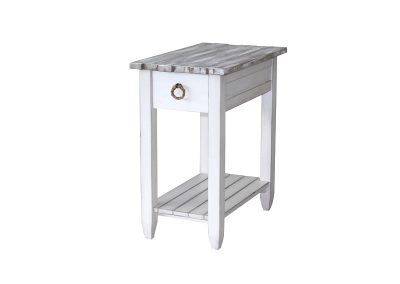 Picket Fence Chairside Table by Sea Winds Trading Co.