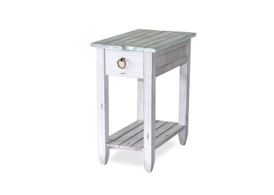 Picket-Fence Chairside Table by Sea Winds Trading Co.