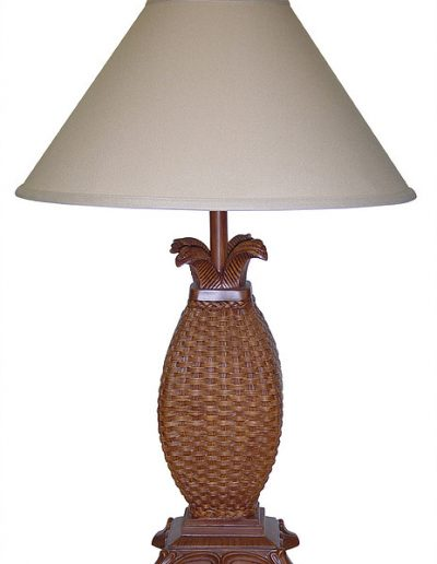 RT810F-DT resin wicker-look lamp by papila