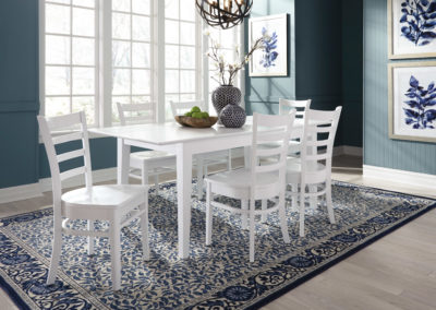 Pure White Emily Dining by John Thomas T08-3660XBS_RS