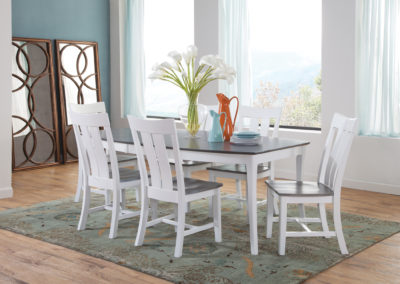 Cosmopolitan Ava Chair with Salerno Table by John Thomas