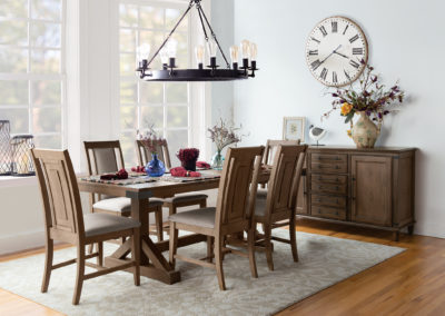 Farmhouse Chic Prevail Extension Dining by John Thomas