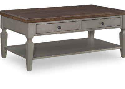 Vista Coffee table in Hickory and Stone by John Thomas OT41-15C