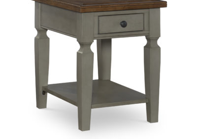Vista End table in Hickory and Stone by John Thomas OT41-15E