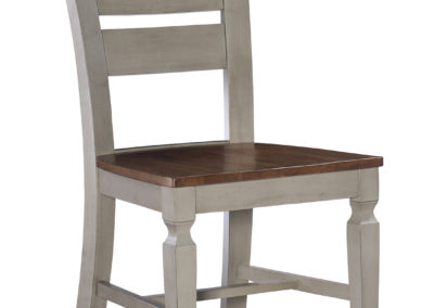 Vista Ladderback Chair by John Thomas in Hickory and Stone C41-57B