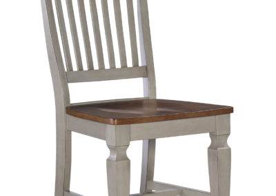 Vista Ladderback Chair in Hickory and Stone by John Thomas C41-65B