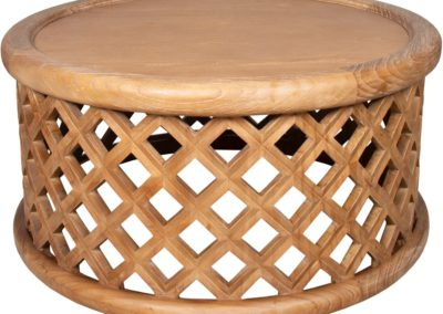 CK374 Coastal Brown Cocktail Table by Capris