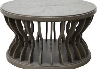 CK384 Distressed Grey Cocktail Table by Capris