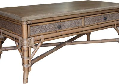 CT385 Classic Natural Coffee Table by Capris