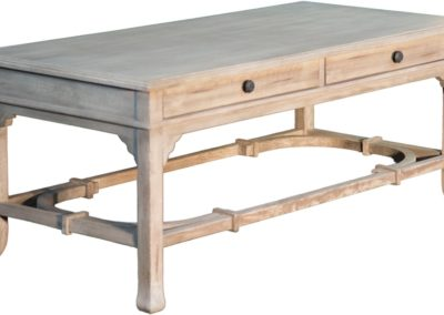 CT756 Aged White Coffee Table by Capris