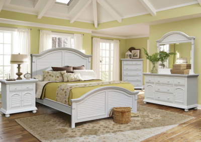 Cape Cod Bedroom by Cottage Creek