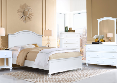 Abaoca White Bedroom by Cottage Creek