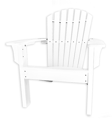 Curved OBX Adirondack Chair by Carolina Casual