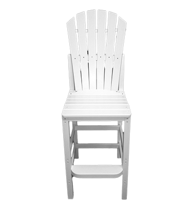 Curved OBX Armless Barstool by Carolina Casual