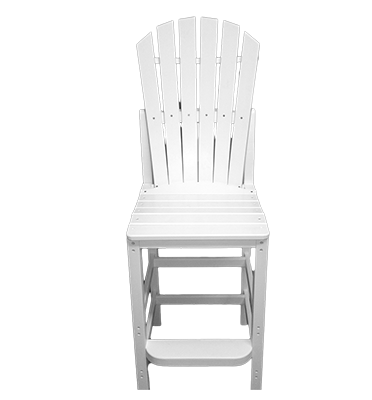 Curved OBX Armless Counter Stool by Carolina Casual