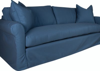 S5315 Slipcover rolled arm bench seat Sofa by Capris